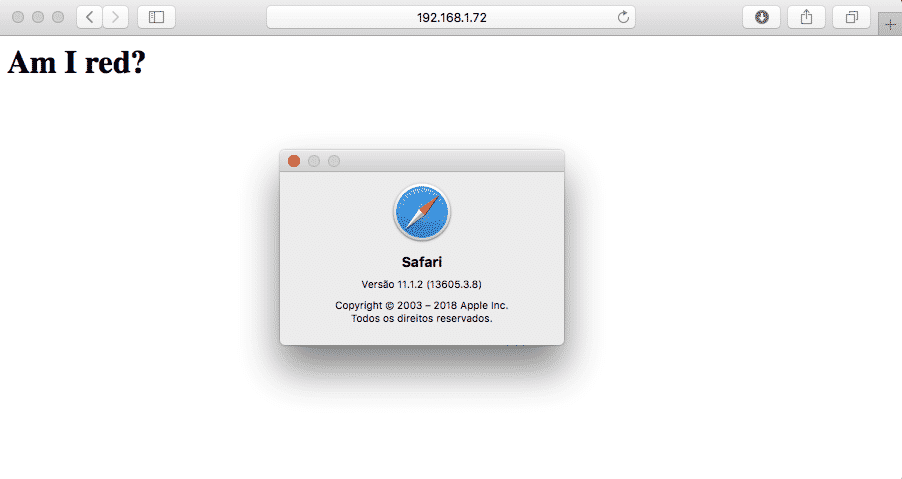 SRI - Safari 11.1
